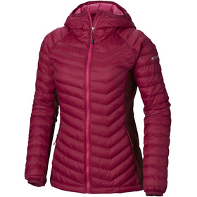 Columbia Powder Lite Light - Veste Femme - rouge